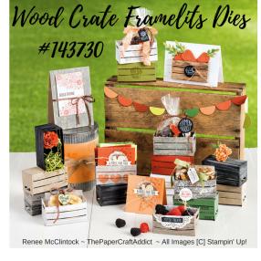 Wood Crate Framelits Dies 143730