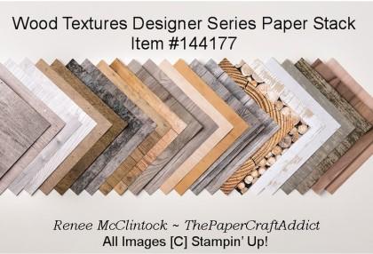 Wood Textures Paperstack