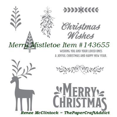 Merry Misletoe.Stampin Up