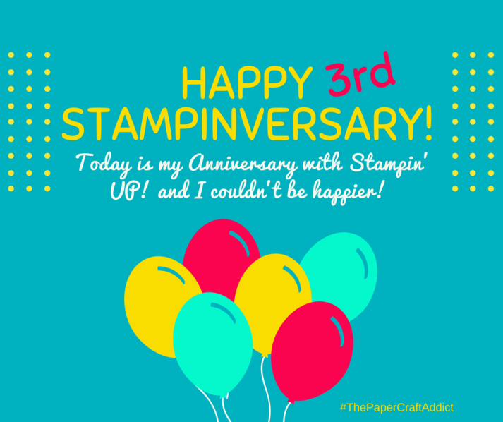 3rd Stampiversary!