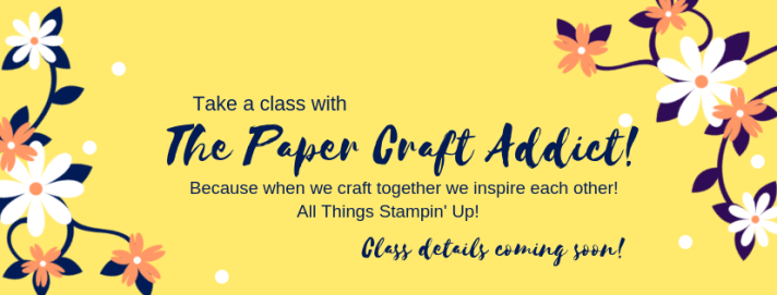 Take a class with the PaperCraftAddict