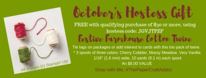 October's Hostess Gift