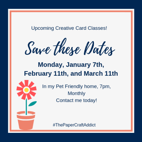 Save The Dates Creative Card Class